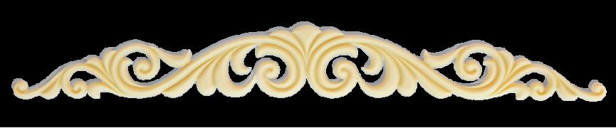 Елемент декору з поліуретану А-01