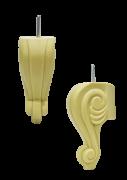 Меблева ніжка з поліуретану НП-12