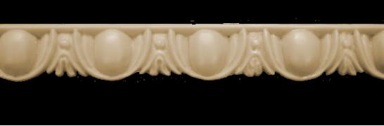 Декоративний погонаж з поліуретану П-13