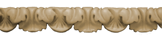 Декоративний погонаж з поліуретану П-14
