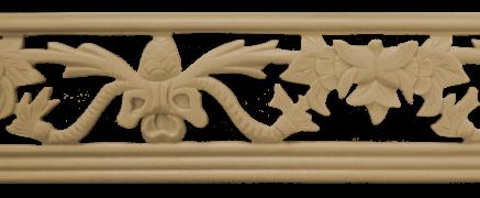 Декоративний погонаж з поліуретану П-18