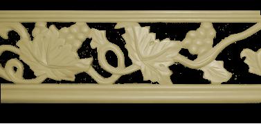 Декоративний погонаж з поліуретану П-19