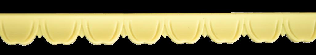 Декоративний погонаж з поліуретану П-29