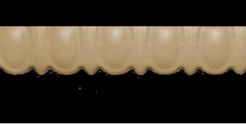 Декоративний погонаж з поліуретану П-3(90)