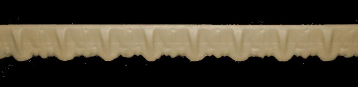 Декоративний погонаж з поліуретану П-4 (90)