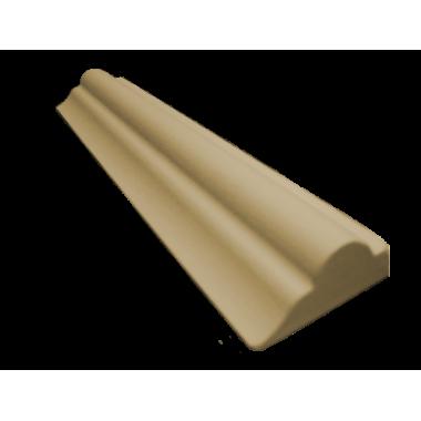 Декоративний погонаж з поліуретану Штапик №1