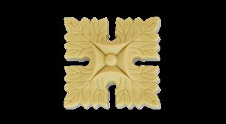 Розетка квадратна з поліуретану Р-03