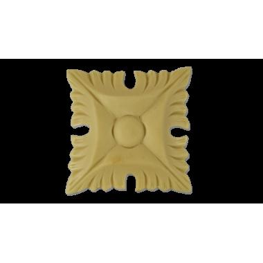 Розетка квадратна з поліуретану Р-06