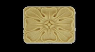 Розетка квадратна з поліуретану Р-34