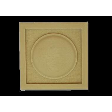 Розетка квадратна з поліуретану Р-42