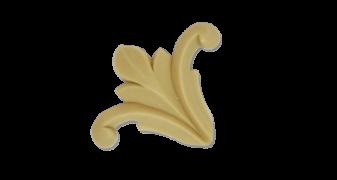 Кутовий декор з поліуретану У-10