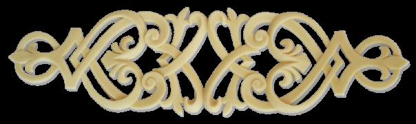 Меблевий декор з поліуретану В-04