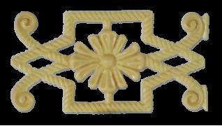 Меблевий декор з поліуретану В-10