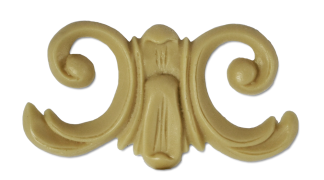 Меблевий декор з поліуретану В-12