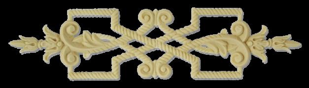Меблевий декор з поліуретану В-14