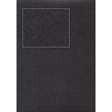Плівка ПВХ Чорний металік глянець